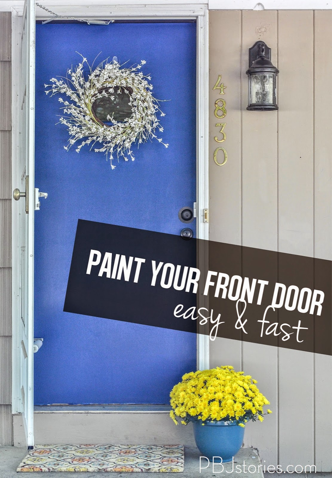 How To Paint Your Front Door Easy And Fast