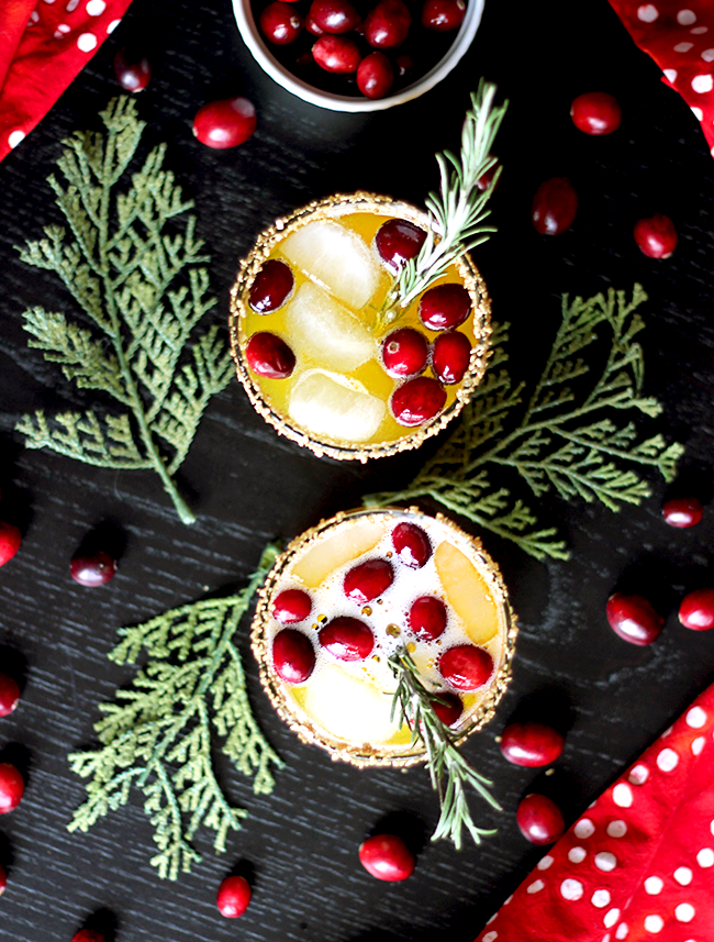 Holiday Gold Passion Fruit Spritzer