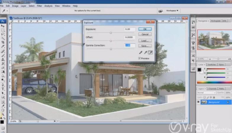 Render v ray for Online rendering tool
