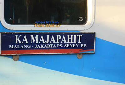 KA Majapahit Malang Jakarta