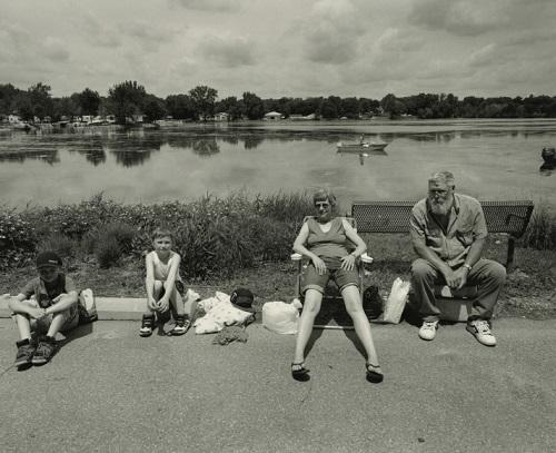Tom Arndt - Family,Bullhead Days, Waterville, Minnesota, 2015