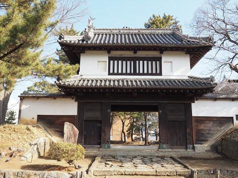 土浦城址 亀城公園 櫓門