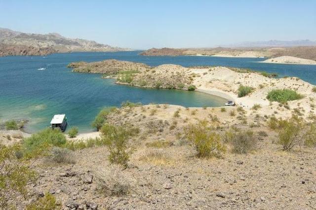 Lago Mohave em Las Vegas