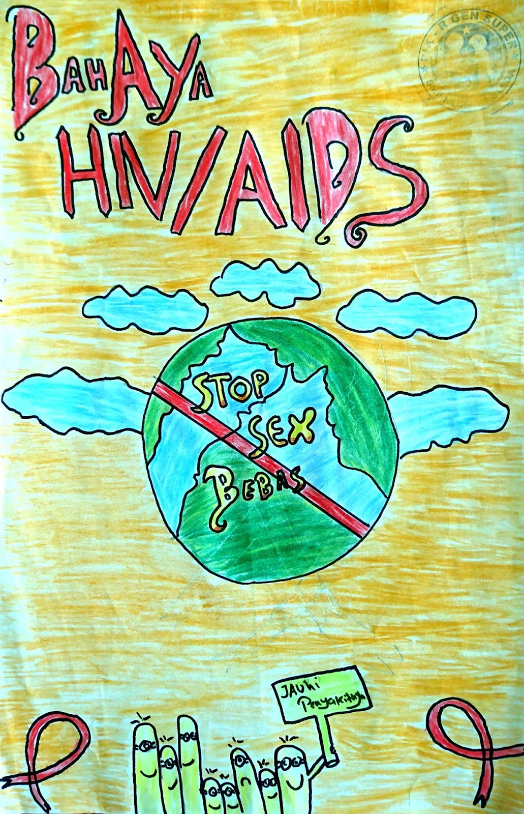 Lomba Menggambar Poster Hiv Aids Ala Spensaga