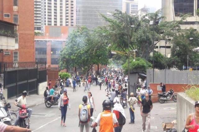 Afectadas decenas de personas por gases lacrimógenos en Bello Monte