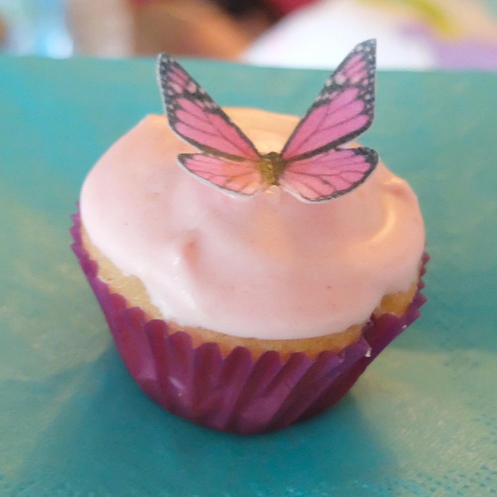 lemon mini cupcake