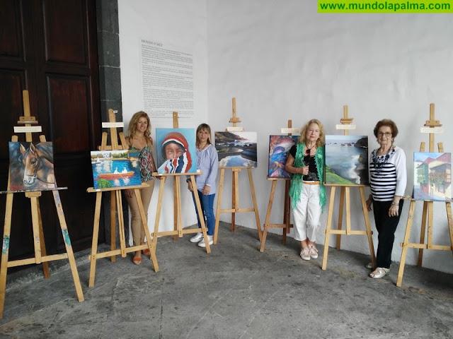 El Ayuntamiento de Santa Cruz de La Palma expone las obras del curso municipal de dibujo y pintura