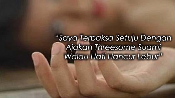 Threesome Dengan Wanita Simpanan Suami