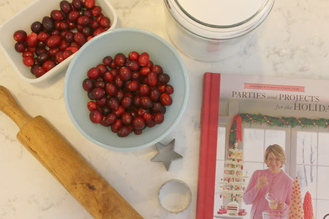 image result for vintage bowls baking holiday rolling pin cranberries martha stewart book