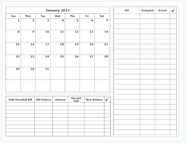 Budget Calendar Template Resume Template Ideas