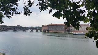 Toulouse. Vora del riu Garona