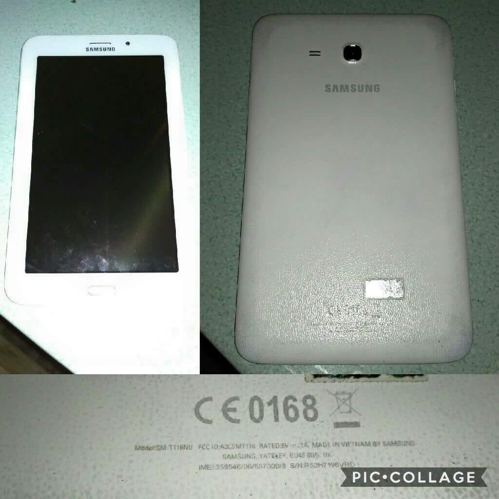 Samsung Bekas Harga Bekas Samsung Galaxy TAB 3 V Full Set