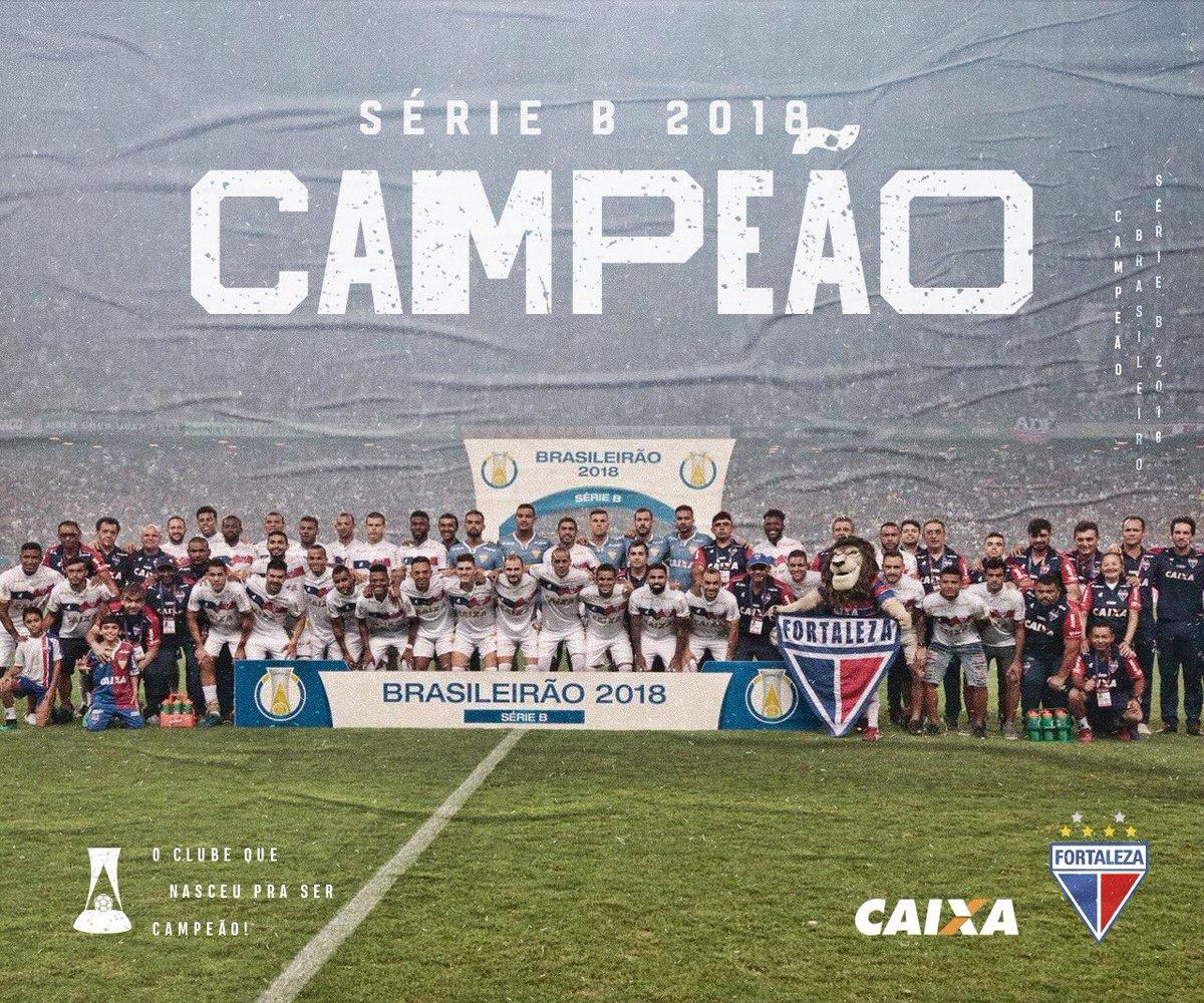 Fortaleza campeão brasileiro da Série B 2018-I a5865e7820758
