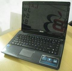 jual laptop bekas asus k42f