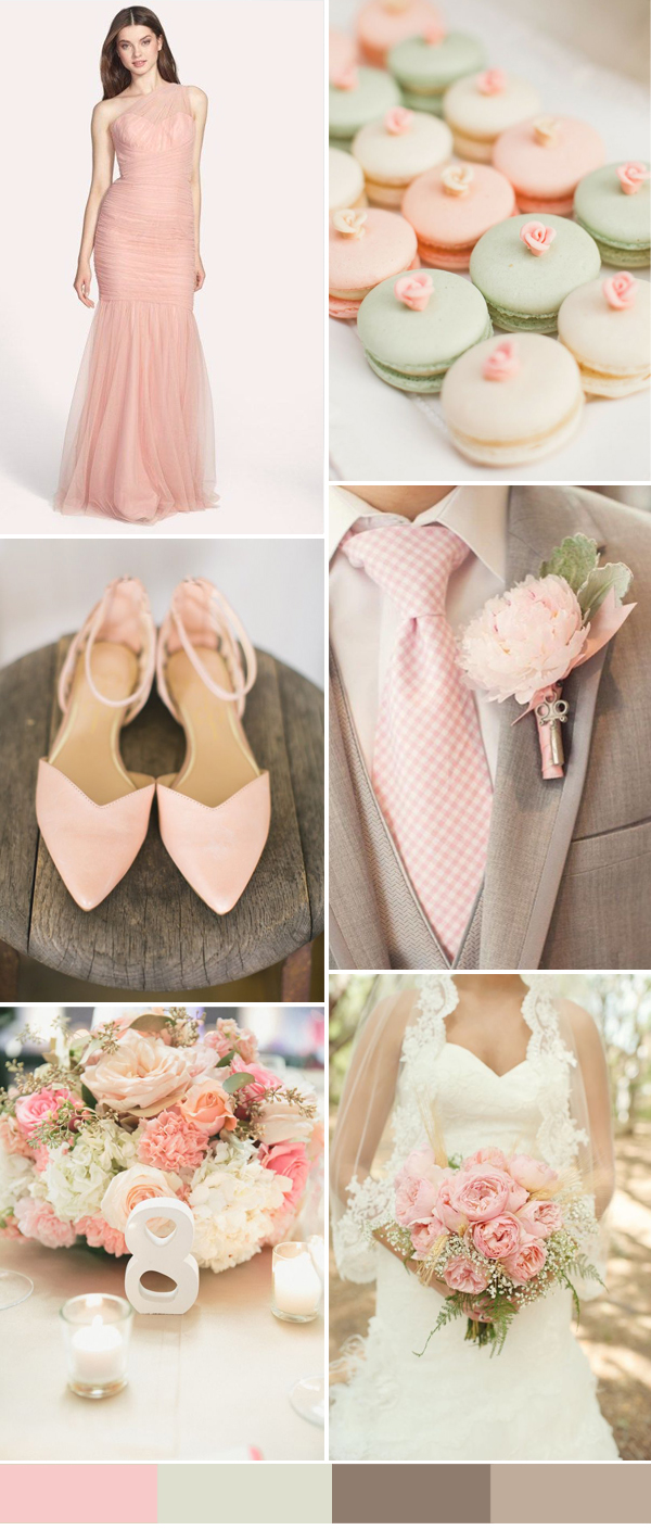 08489894cdf 1. Top one wedding colors for 2016 spring weddings  Rose Quartz
