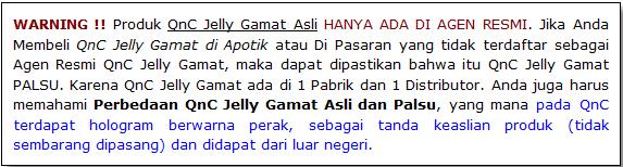 QnC Jelly Gamat untuk Ibu Hamil