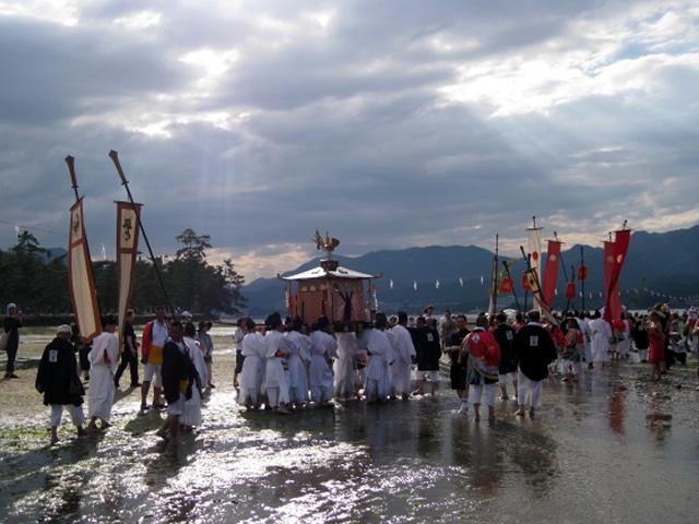 Kangen-sai, or Court Music Festival of Itsukushima Shrine, Miyajima-cho, Hatsukaichi, Hiroshima Pref.