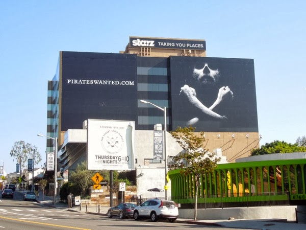Giant Pirates Wanted Black Sails teaser billboard