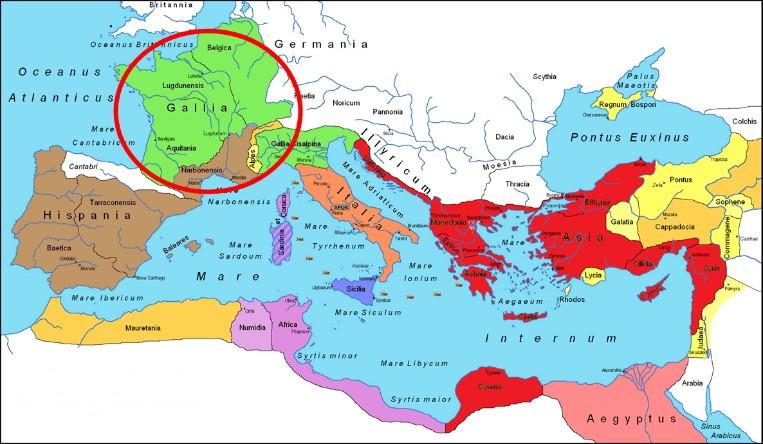 Gaul World Map.Random Thoughts By Mark Milliorn Hail Vercingetorix