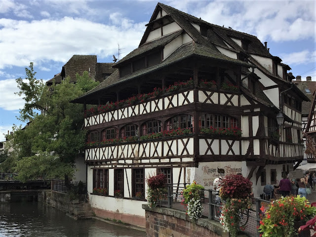 Fachwerkhäuser im Quartier La Petite France