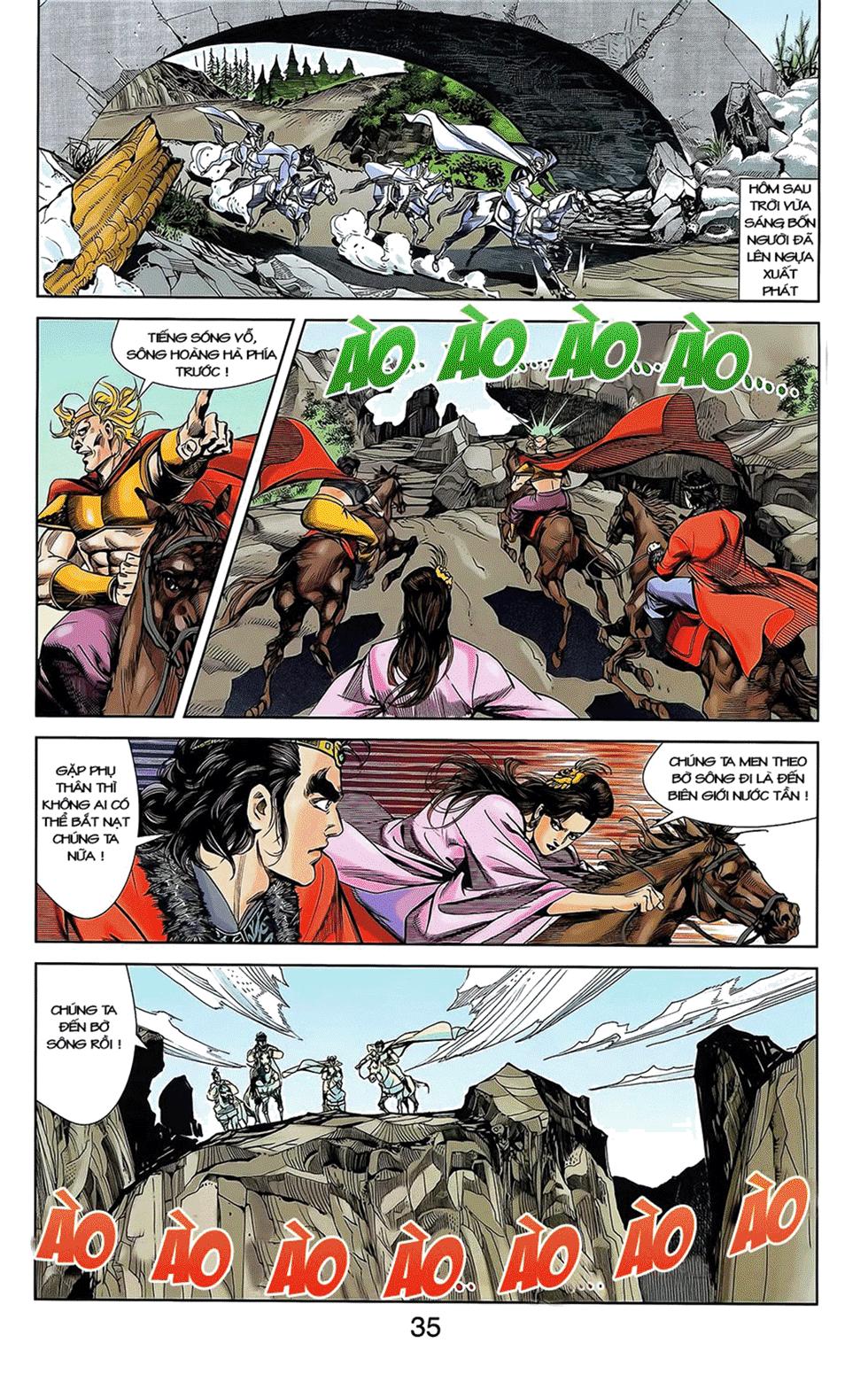 Tần Vương Doanh Chính chapter 12 trang 25