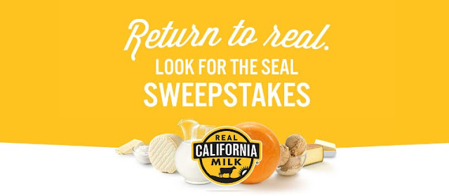 The California Milk Advisory Board will be giving away $1000 in FREE GROCERIES to one lucky winner in the form of a gift card, a years' worth of butter and more!