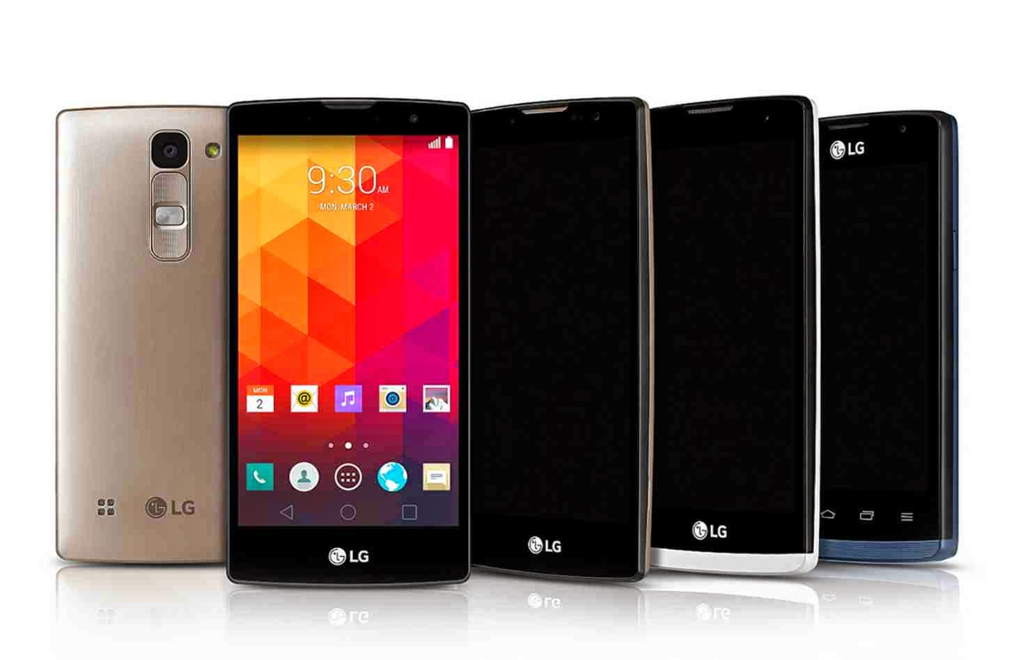 LG Joy, Leon, Spirit and Magna Announced with Android 5 0