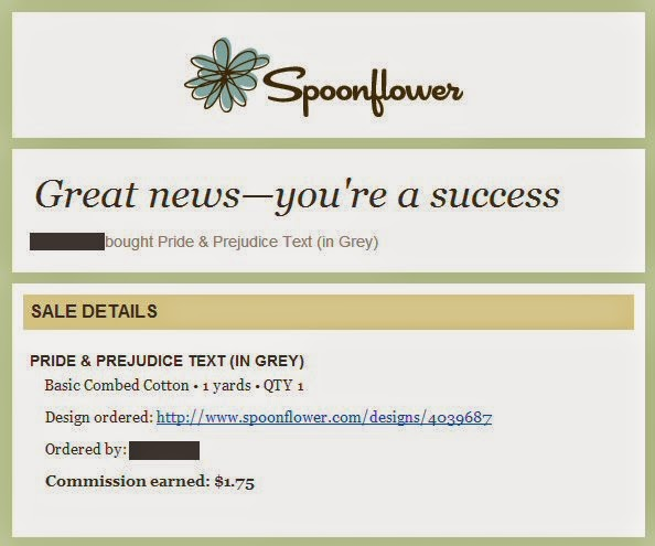 Spoonflower email