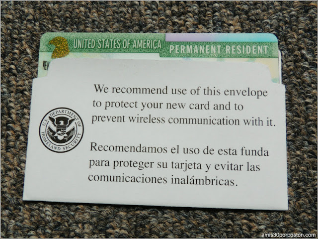 Green Card: Tarjetas de Residentes Permanentes