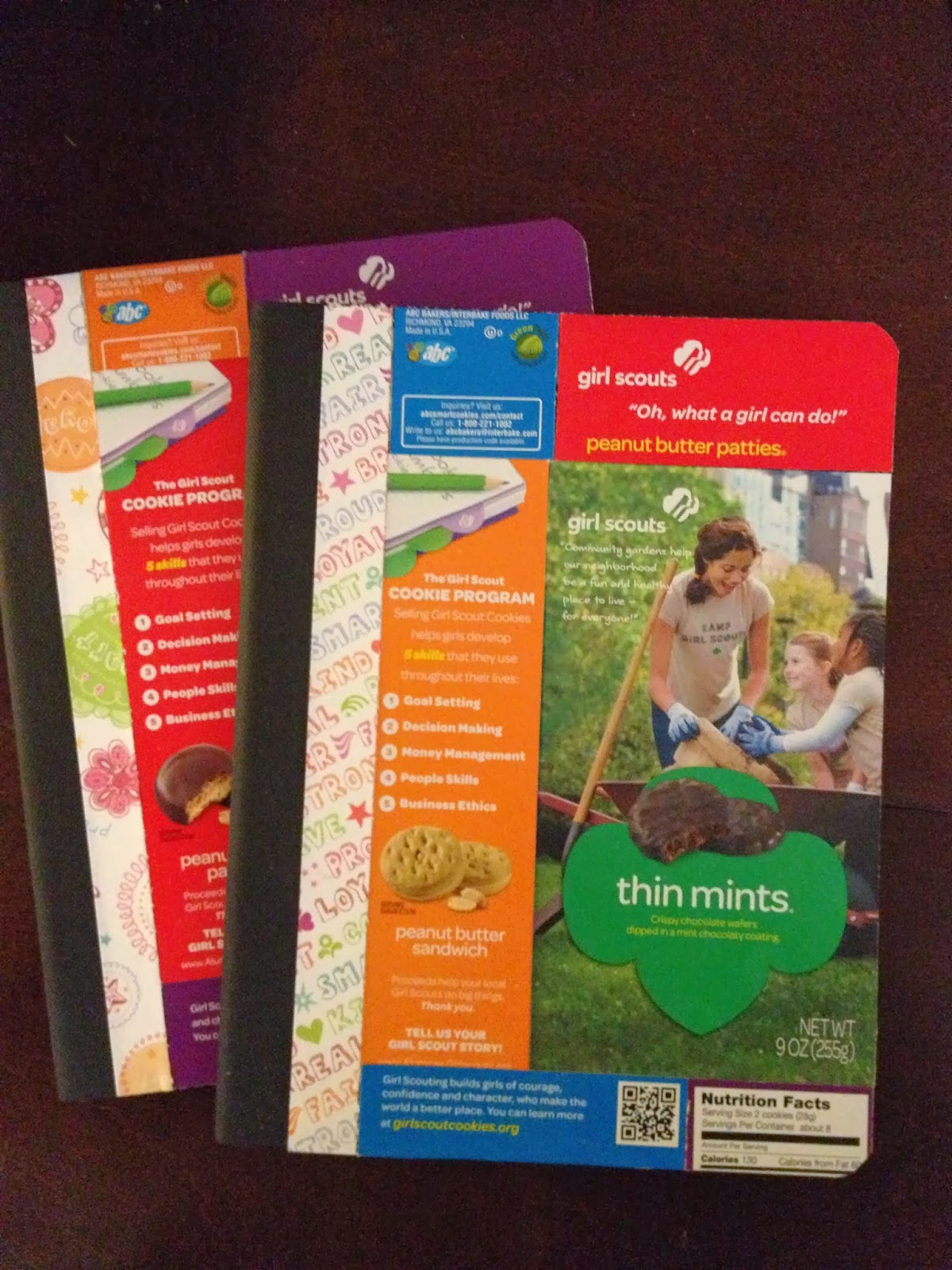 Cynde S Place Girl Scout Cookie Journals