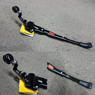 Kick Stand Alloy C untuk sepeda ukuran 20-24-26-27.5 inch