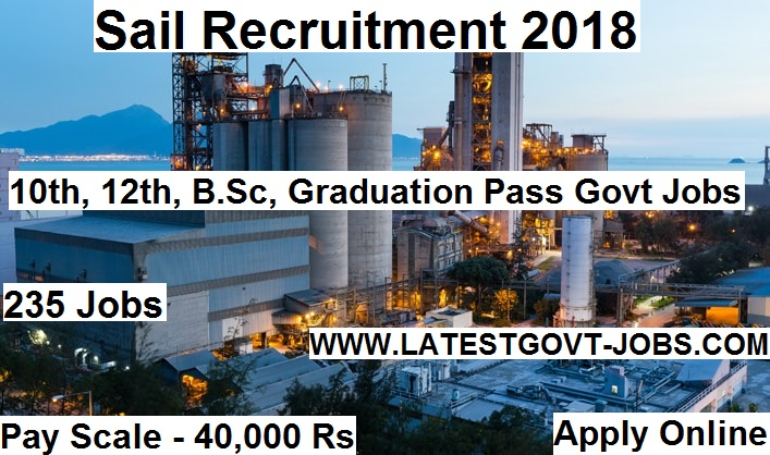 235 New vacancies in sail recruitment 2018