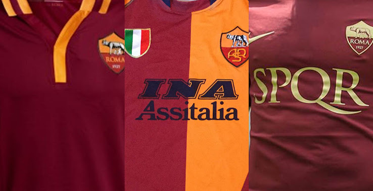 new product c5f16 aa342 Here Are Our Top 7 AS Roma Totti Kits - Footy Headlines