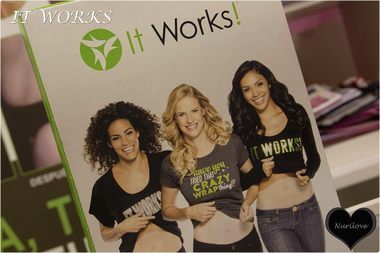 It works. Productos para perder peso y reducir volumen