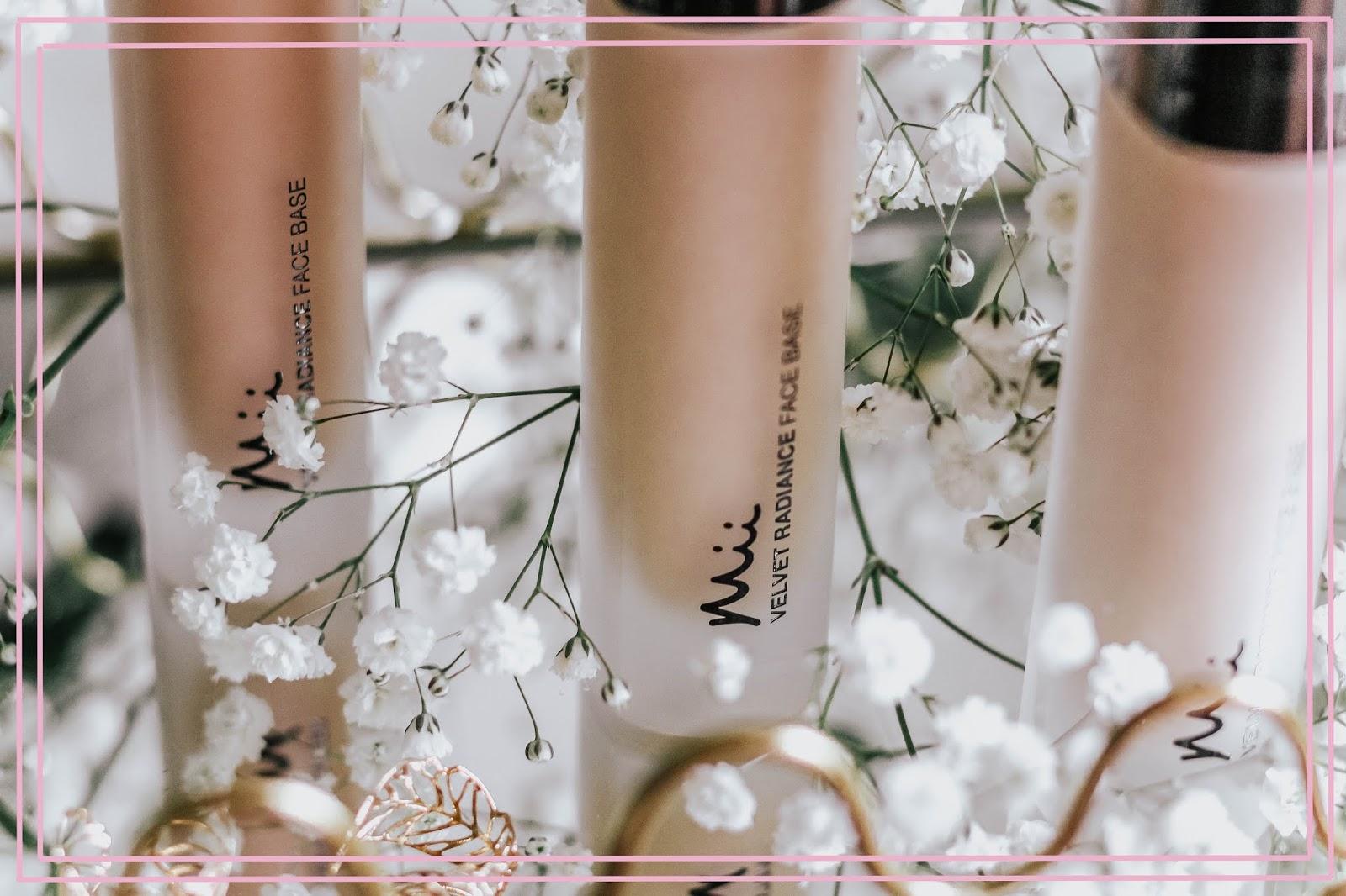 Mii Cosmetics Velvet Radiance Face Base Beauty Blog Review