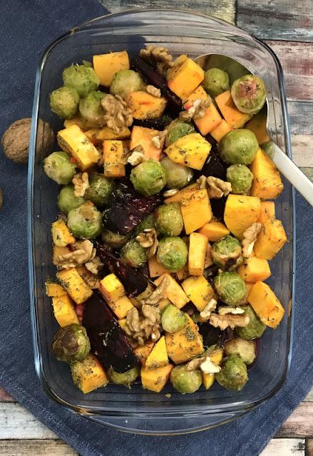 Gerösteter Herbstsalat aus dem Ofen