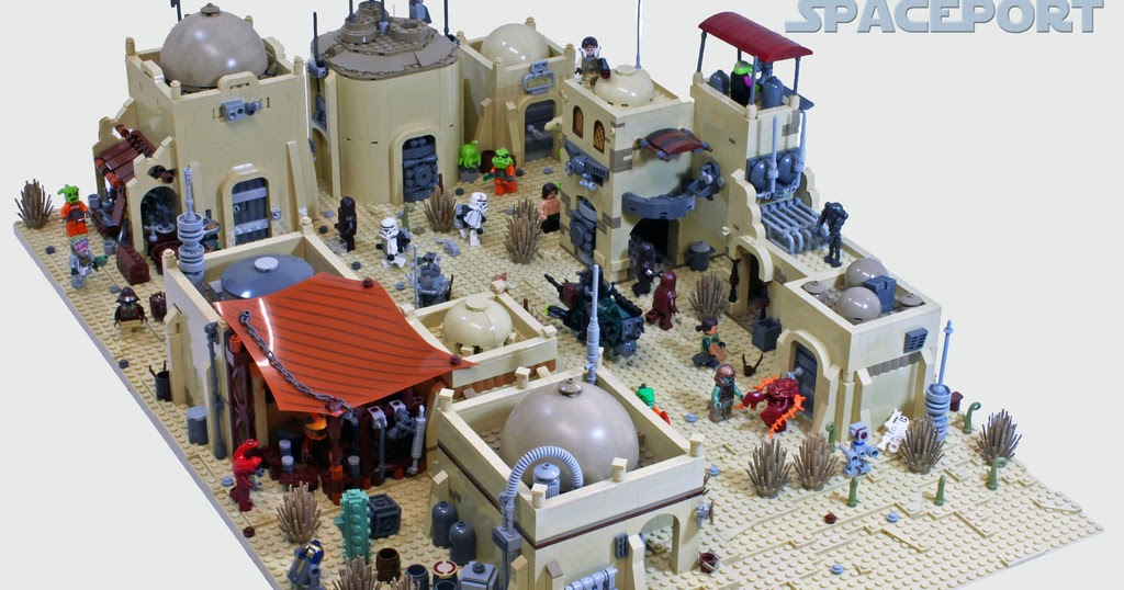Tiles or Studs: Mos Eisley Spaceport
