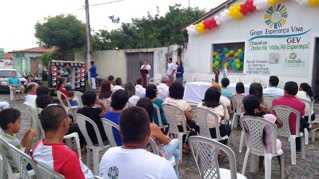 Moradores de Chaval passam a contar com Grupo Esperança Viva no combate a dependência química