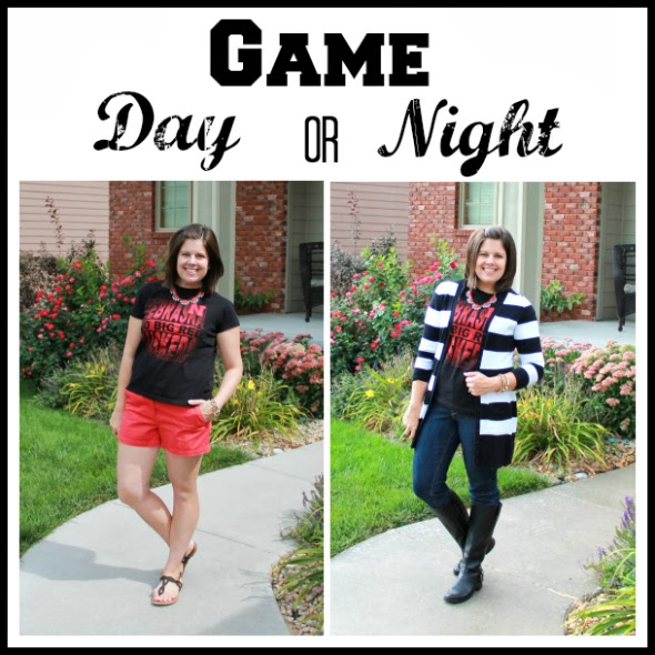 How to take your game day look from day to night.