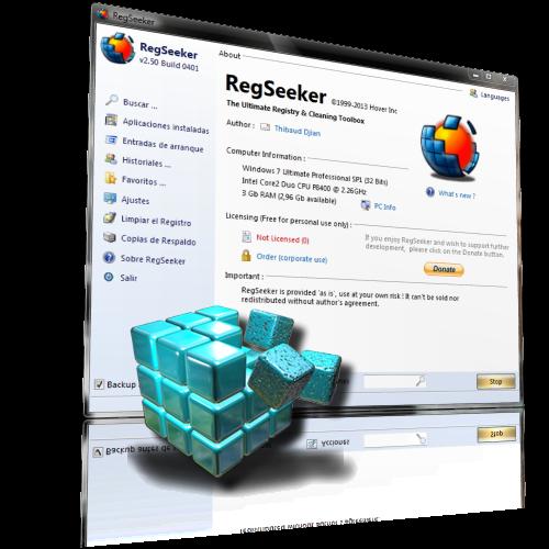 RegSeeker 4.7.364018 Portable   Excelente limpiador y reparador del registro de Windows