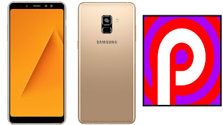 Galaxy A8 + with Android Pie, samsung galaxy, samsung,