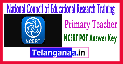 NCERT PRT Primary Teacher Answer Key 2017 Cutoff Result