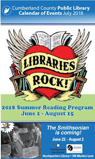 Digital Calendar for Library Programs in July