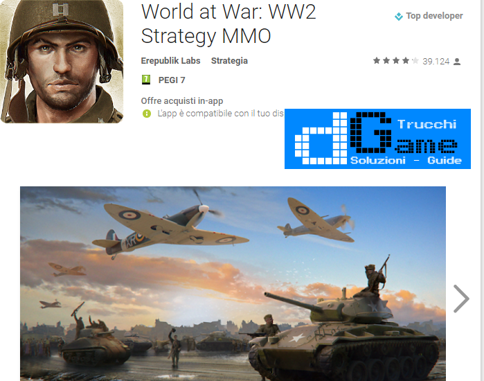 Trucchi World at War: WW2 Strategy MMO  Mod Apk Android v1.5.4