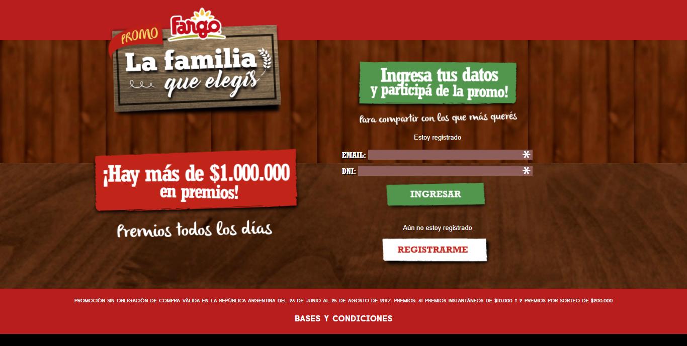 Gana hasta $1.000.000 con Fargo