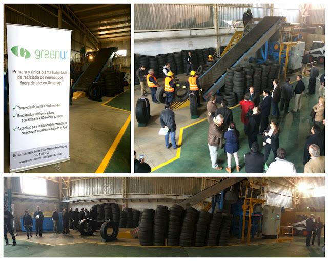 Se Inaugura la primera planta de reciclado de neumáticos en desuso – GreenUr
