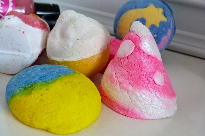 a photo of the 2013 Lush Christmas products