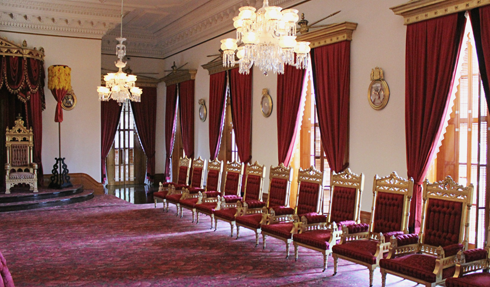 Iolani Palace Interior Honolulu Hawaii