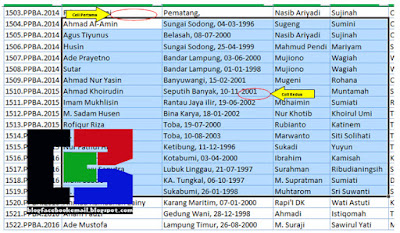 Trik Cell Range Pada Excel Yang Mungkin Belum Banyak yang Tahu 4