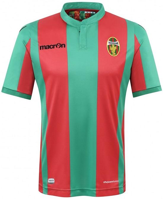 Macron lança as novas camisas do Ternana Calcio - Show de Camisas bbdde88fa1f79